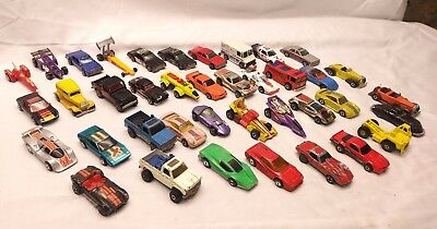 LARGE LOT OF 39 VINTAGE HOT WHEELS BLACKWALL. Rare Vehicles. Various Conditions!