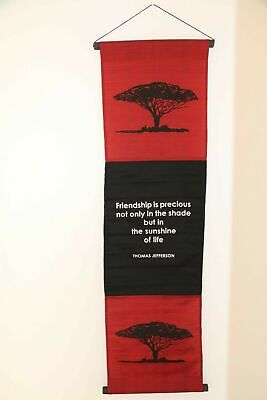 Brand New Balinese FRIENDSHIP IS PRECIOUS Affirmation Banner Hanging