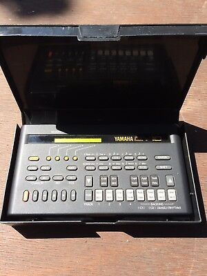 Yamaha QY10 Sequencer vintage Drum Machine Synthesiser