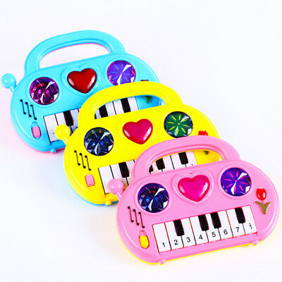 1Pc Colorful Music Piano Baby Musical Instruments Educational Birthday Toys