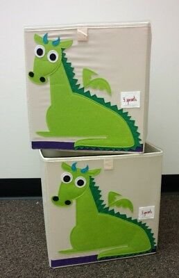 Two Dragon Storage Boxes From 3 Sprouts
