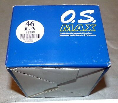 O.S LA .46 Blue Anodized Airplane Engine Untouched Mint In Box
