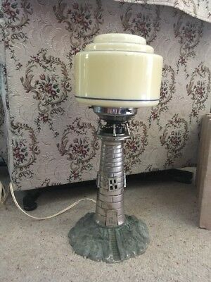 Antique Lighthouse Lamp 1930's