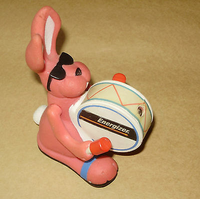 "Vintage Energizer Bunny Rabbit 4"" Pink  Advertising Toy Batteries Battery"