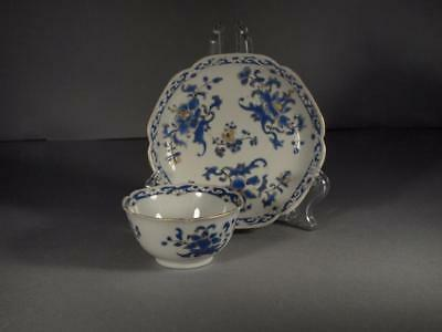 Fine Chinese Yongzheng Period Semi Eggshell Teabowl and Saucer
