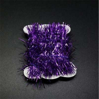 1 Color Fly Fishing Tinsel Chenille Crystal Flash Line Rig Baits Making