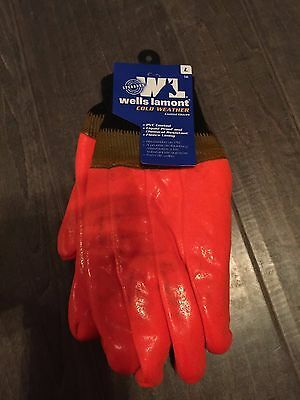 Wells Lamont Cold Weather PVC Coated Gloves 164