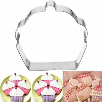 New Cupcake Shape Biscuit Cookie Party Mold Cutter Metal Cup Cake Cutting Mould