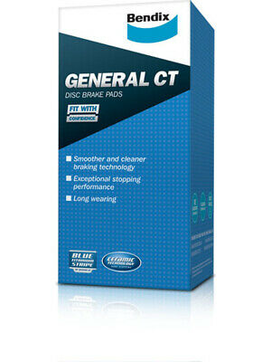 1 set x Bendix General CT Brake Pad FOR HOLDEN COMMODORE VB (DB1085GCT)