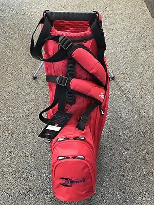 ***BRAND NEW*** Titleist Tournament Stand Bag - RED w/BLUE Lobster