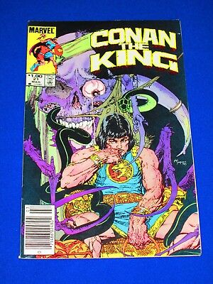 CONAN THE KING Issue #21 [Marvel 1984] VF or Better