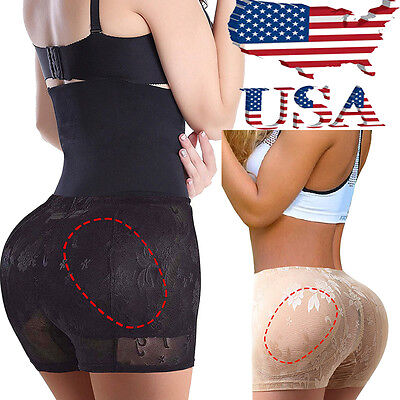 Womens Padded Full Butt Liffter Hip Enhancer Panties Shaperwear Underwear Shaper