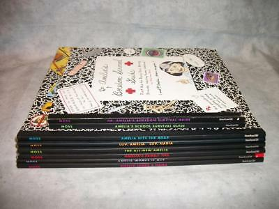 S555 Amelia's Notebook Marissa Moss Ages 9-12 American Girl PB Book Lot of 8