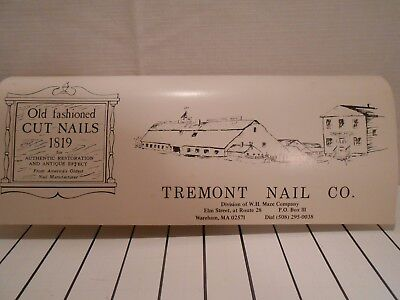 Vintage History Of Cut Nails Tremont Nail Company 1819