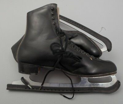 Great! Men's Riedell Black Leather Figure Ice Skates Size 12.5* Model 220-N