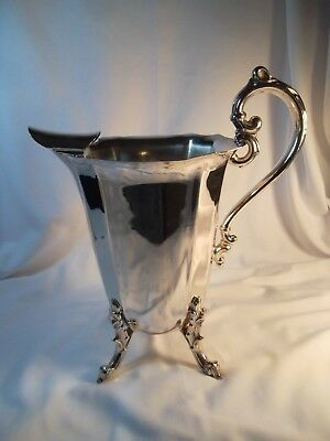 #683 Grand Style Silver Plate Water Pitcher