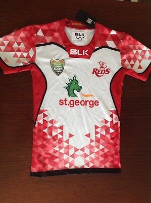 Official Queensland Reds Playing Jersey from 2017 Brisbane Global Rugby Tens