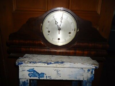 Antique Sir John Bennett Ltd Clock wooden, Made in London England