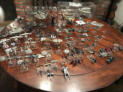 X-Wing Miniatures lot rebel, imperial, scum huge lot! 95 ships