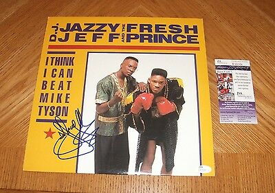 DJ Jazzy Jeff & The Fresh Prince -  I Think I Can Vinyl LP Record *Signed* w/JSA