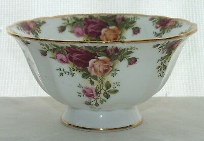 Royal Albert Old Country Roses Footed Bowl