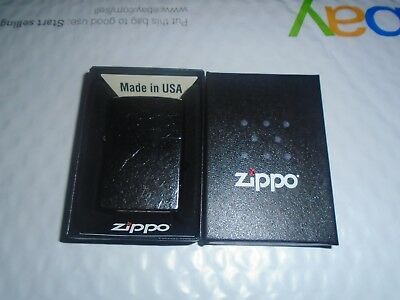 Zippo Street Chrome Windproof Lighter #207 Brand New In Box