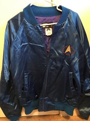 Star Trek Next Generation Top Line Jacket Paramount Pictures Licensed Product