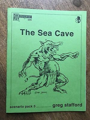 Runequest The Sea Cave Scenario Pack 3 Sp3 Greg Stafford Chaosium Old School