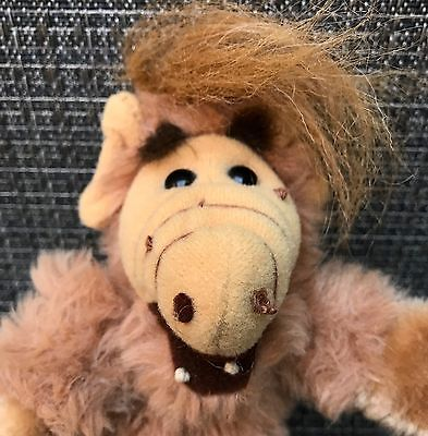 "Vtg 1987 GANZ Alien Productions ALF 8"" Plush FINGER PUPPET 80s TV Stuffed Toy OG"