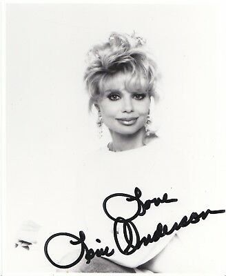 Loni Anderson Actress Wkrp Tv Series Signed Photo Coa