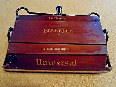 Bissell's Universal Antique Cyco Bearing Push Sweeper  ca.1910