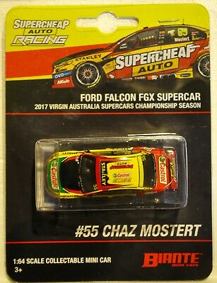 1/64 2017 Chaz Mostert - Ford Falcon FGX