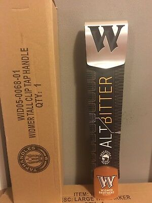 Widmer Brothers Brewing Alt Bitter Beer Tall Tap Handle BRAND NEW In BOX !!!