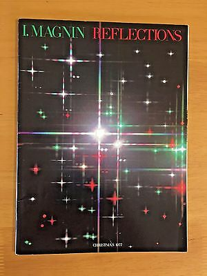 Vintage I. Magnin Reflections Christmas 1977 Catalog