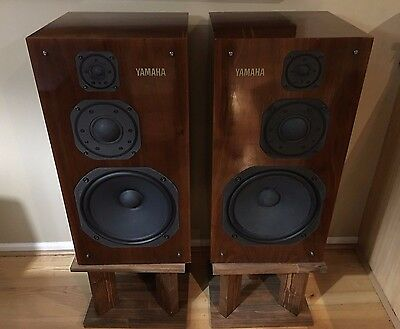 Yamaha NS-1200 Speakers Excellent Condition Rare Vintage HiFi