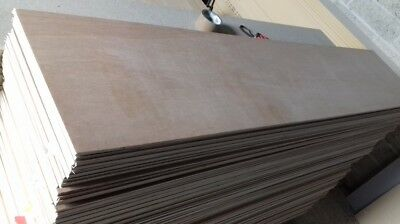 5 Pieces of NEW 10mm B/BB Grade Birch Plywood 8ft x 8in (2440mm x 204mm)