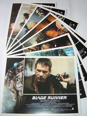 """BLADE RUNNER"" (Harrison Ford_Star Wars) Full set of Lobby Cards - NEW & SEALED"
