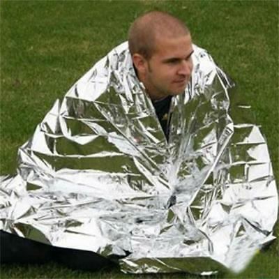 Emergency Military Silver Blanket Outdoor Life Saving Survival Rescue Insulation