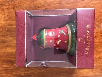 Large Christmas bell by villeroy and Boch