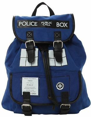Doctor Who Tardis Buckle Slouch Bag Purse Dr Who Backpack New
