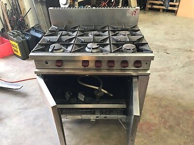 natural gas catering oven