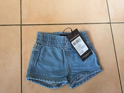Rock Your Baby  Racer Shorts Sz 00  Bnwt Rrp $44