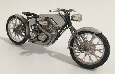 Retro Custom Bike 1/24 1/25 Motorcycle Motorrad