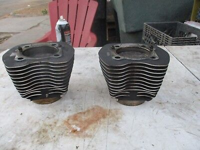 Harley Twin Cam Engine Cylinders & Pistons 96 Inch 3 7/8 Bore OEM