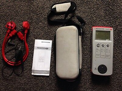 Seaward primetest 50 Pat Tester Used But In Fully Working Condition With Leads
