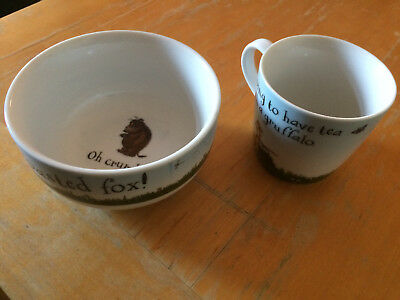 Gruffalo Children's Bowl and Cup Set