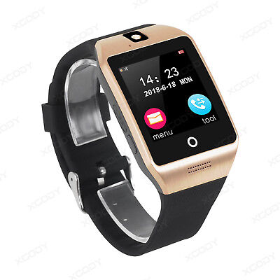 Reloj Inteligente Bluetooth Smart Watch SmartWatch para Android IOS TF SIM ORO