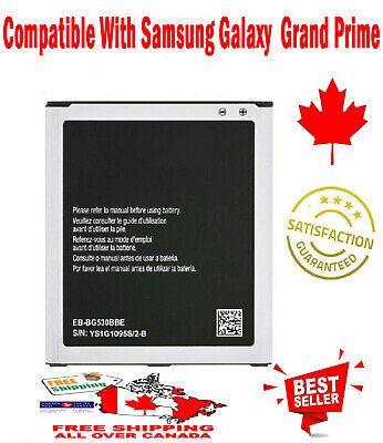 OEM Samsung Galaxy Grand Prime Battery EB-BG530BBE 2600 mAh for SM-G5308W