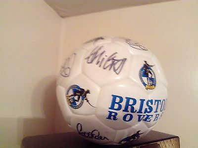 BRISTOL ROVERS - Signed Football by Team / Squad, Up the Gas!!! UTG