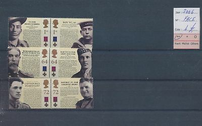LH09373 Great Britain 2006 soldiers military fine lot MNH face value 4£